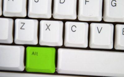 Nejčastější klávesové zkratky